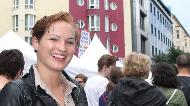 Porträt von Nadja Pechmann.