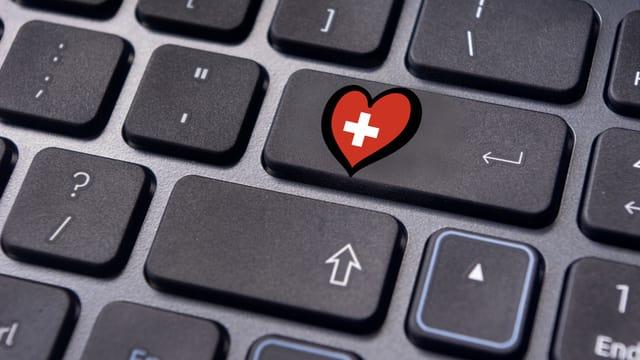 Tastatur mit ESC Logo