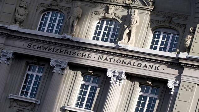 Sitz der Schweizerischen Nationalbank in Bern