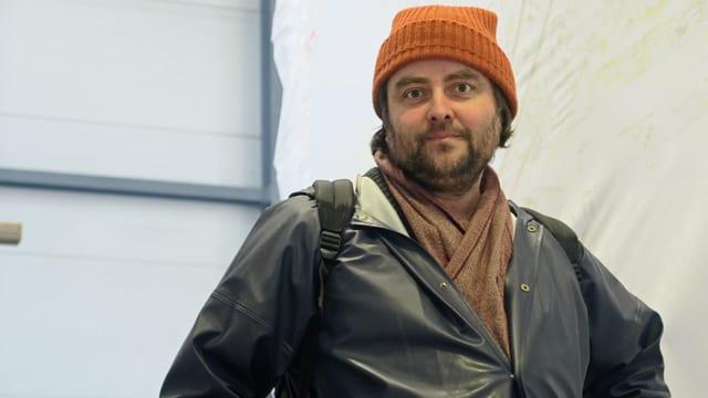 Porträt des Obwaldner Künstlers Christian Kathriner.