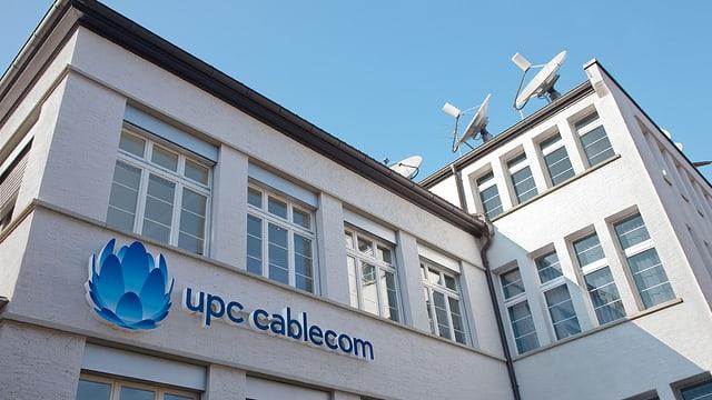 Sedia da UPC Cablecom a Leimbach.