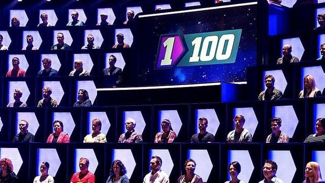 «1gegen100», die 100 Gegner