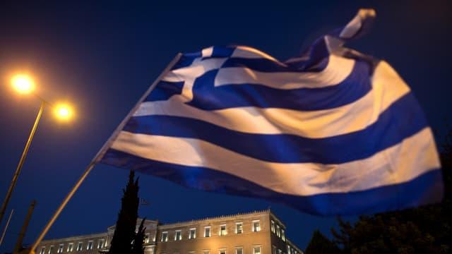 La bandiera da la Grezia.