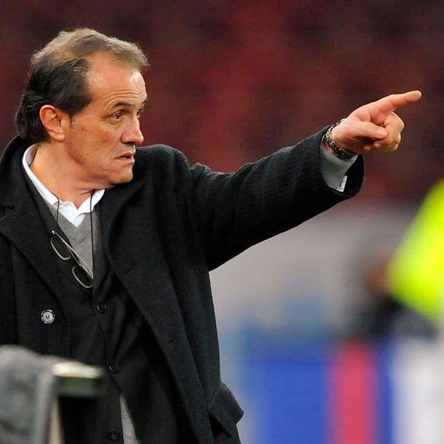 Umberto Barberis, hier in seiner Zeit als Sion-Coach 2009.