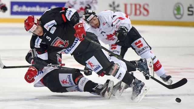 Letztes Jahr scheiterte Mountfield im Viertelfinal an Kanada. Zur Revanche kommts nun bereits in der Gruppenphase.
