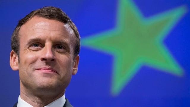 Purtret dad Emmanuel Macron.