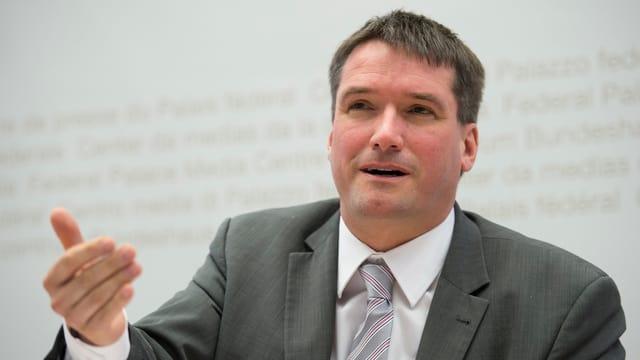 SP-Präsident Christian Levrat