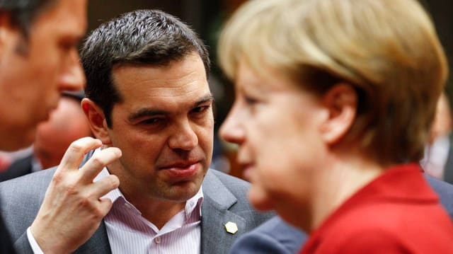 Il primminister grec Alexis Tispras