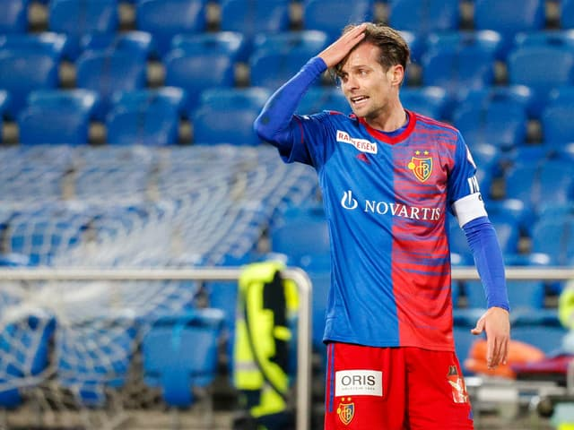 FCB-Captain Valentin Stocker.