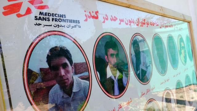 Bilder von medizinischem Personal, das in Kundus ums Leben kam.
