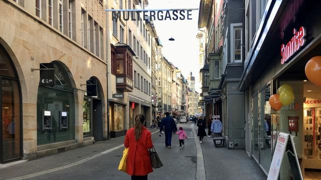 Multergasse St. Gallen