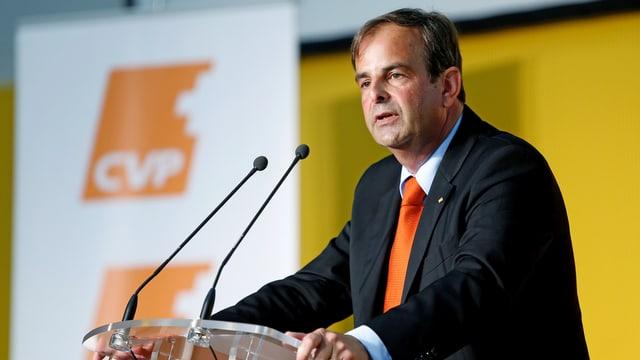 Gerhard Pfister, Präsident CVP