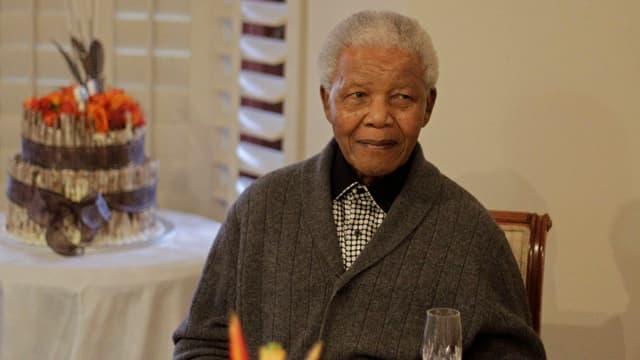 Nelson Mandela an seinem 94. Geburtstag.