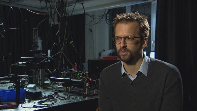 Patrick Maletinsky in seinem Labor