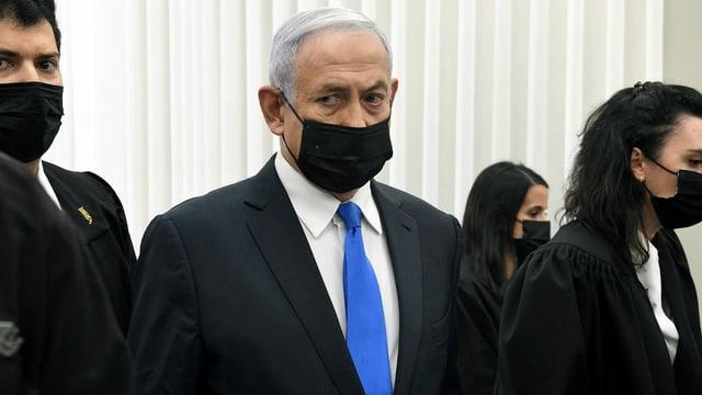 Ist sich keiner Schuld bewusst: der amtierende Ministerpräsident Israels, Bejamin Netanjahu.