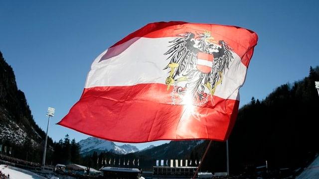 Bandiera da l'Austria.
