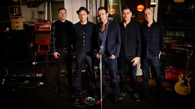 Die Berner Band Züri West sind auch bekannt für ihre meisterhaften Song-Adaptionen.