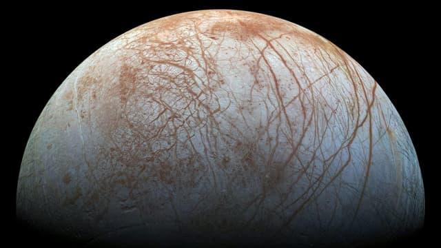 Oberfläche des Mondes Europa