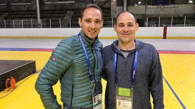 Andreas Wieland e Julio Gomes.
