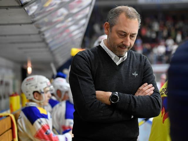 Kloten-Trainer André Rötheli.