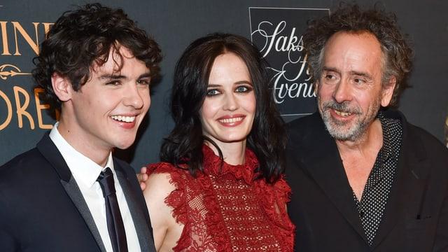 Regisseur mit Schauspielern