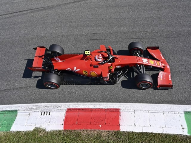 Ferrari hat bei der Monza-Quali keine Chance.