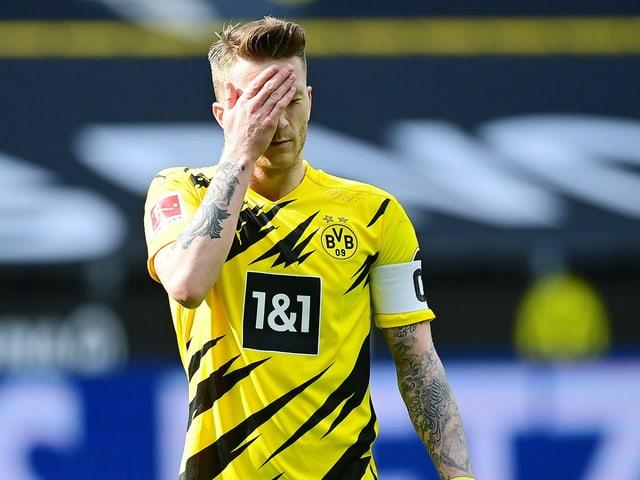 Marco Reus in der Partie gegen Frankfurt
