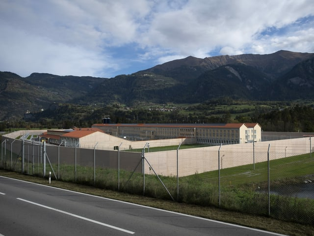 Gefängnis Cazis Tignez im Bündnerland