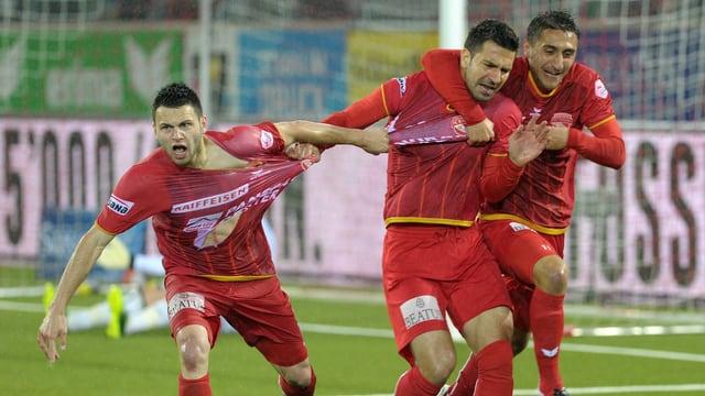 Die Thuner könnten in der Europa League auf Vaduz treffen.