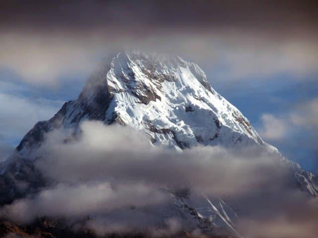 Die Annapurna im Himalaja-Gebirge.
