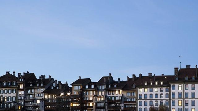 Häuser in der Berner Altstadt.