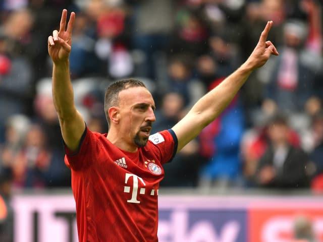Franck Ribéry wird Bayern München Ende Saison verlassen.