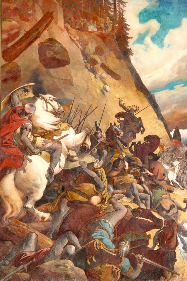 Schlacht am Morgarten.
