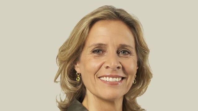 Patricia von Falkenstein lächelt