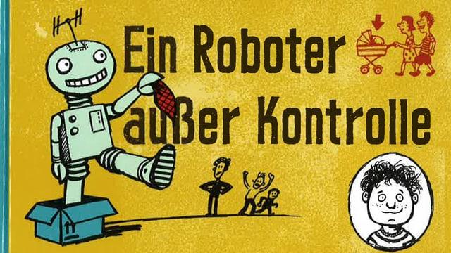 Tripp Trapp Trümmer - und de Roboter – Buchcover