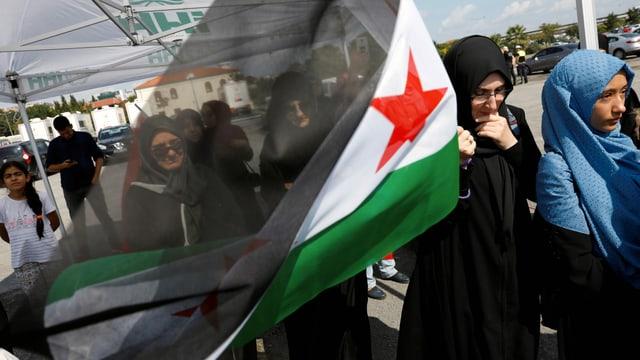 Hunderttausende Syrer in Istanbul