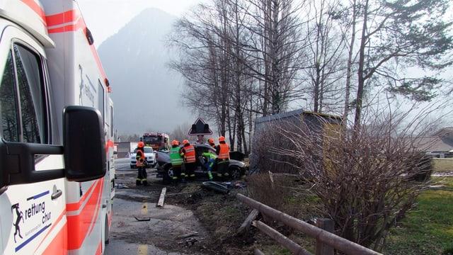 Accident a Vaz-sut
