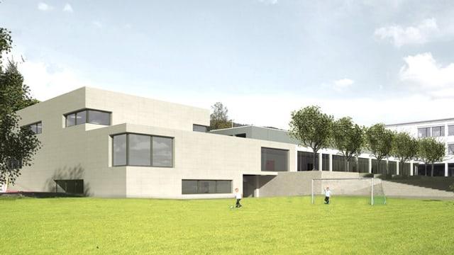 Visualisierung Turnhalle Oberrohrdorf