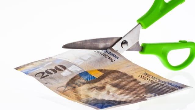 Forsch taglia ina nota da 200 francs