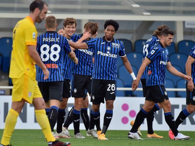 Mit 9 Punkten aus 3 Spielen und 13 erzielten Toren ist Atalanta Bergamo der Saisonstart geglückt.