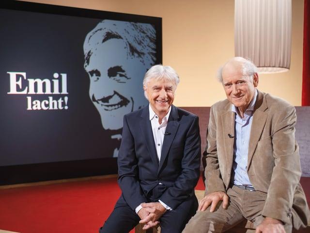 Emil Steinberger und Franz Hohler.