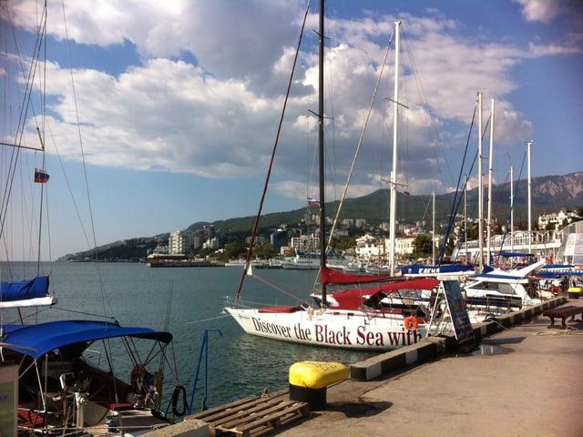 Hafen in Jalta