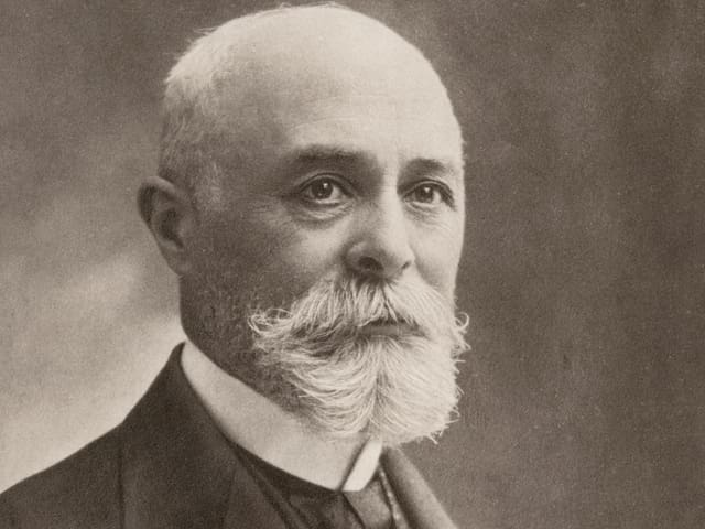 Porträt vom französischen Physiker Henri Becquerel.
