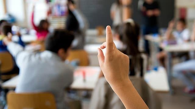 Unterricht in einer Primarschule: Lustige Schüleragenden – mit Anzeigen und Gutscheinen.