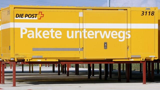 Cargo Container Post