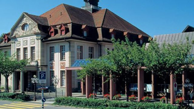 Theaterhaus in Zug.