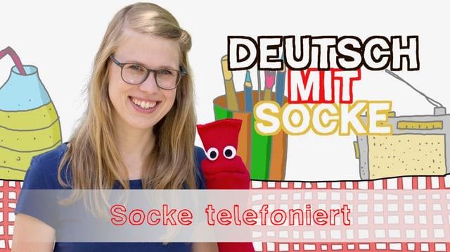Video «Deutsch mit Socke: Socke telefoniert (34/35)» abspielen