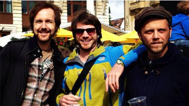 Seit 2006 sind die drei Herren aus Biel dran, ihren Traum von der Welttournee wahr zu machen.
