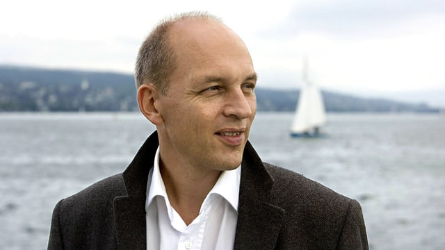 Tim Krohn am Zürichsee.