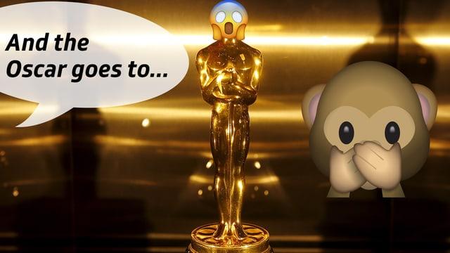 Pssst...SRF 3-Filmcrack Laszlo Schneider weiss, wer den Oscar für den besten Film bekommen wird.